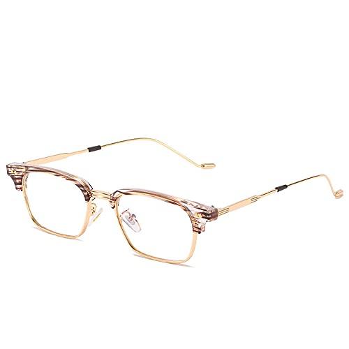 Powzz ornament Gafas graduadas clásicas para mujer, monturas de anteojos fotocromáticas ópticas cuadradas para miopía, monturas de gafas Vintage para hombre-3_China