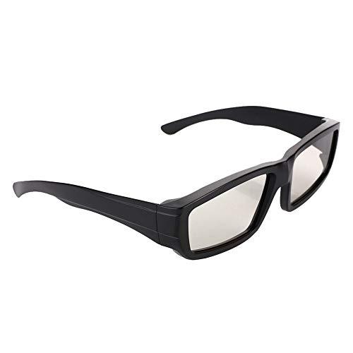Haihuic Paquete de Gafas 3D polarizadas pasivas Compatible con televisores de televisión pasiva 3D de, LG, Vizio, Toshiba, LG, Philips, Panasonic y JVC, también para Usar en teatros 3-D Real-D