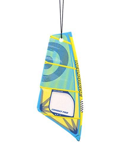 Vela de windsurf Ambientador de árbol Aroma BLACK WATER | vélica deodorante per Auto (Neilpryde Combat)