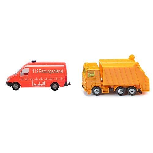 Siku 0805 - Krankenwagen &  0811 - Müllwagen