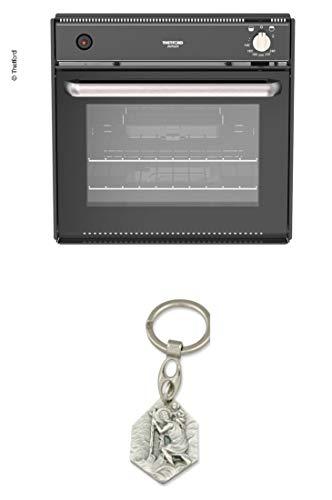Zisa-Kombi Backofen mit Grill 'Duplex' - Volumen 36 Liter (93298870303) mit Anhänger Hlg. Christophorus