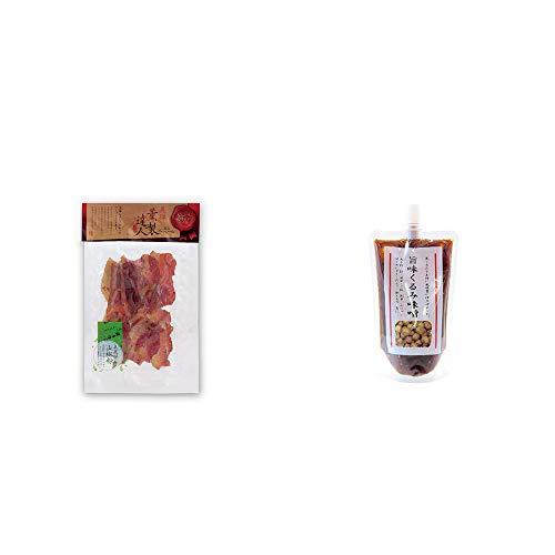 [2点セット] 薫製達人 豚バラベーコン燻製(60g)[飛騨山椒付き]・旨味くるみ味噌(260g)