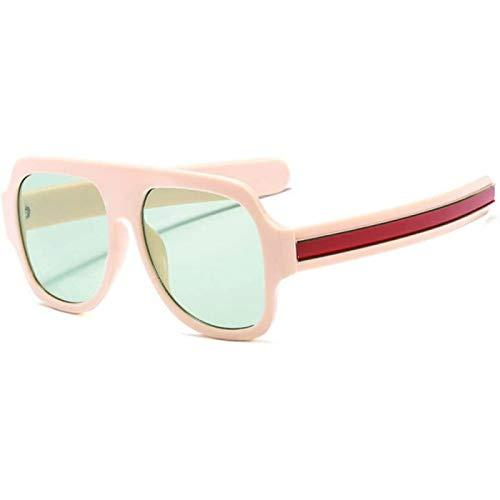 ZHANG Gafas De Sol para Mujer Gafas De Sol Cuadradas De Moda para Hombre Gafas De Sol De Gran Tamaño Vintage Gafas De Sol para Hombre Gafas De Sol Uv400,A
