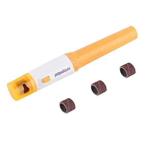 NINIWA 1 molinillo de uñas eléctrico profesional para mascotas, funciona con pilas,...