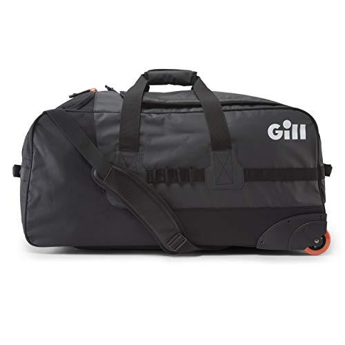 Gill Rolling Cargo Bag Black - Waterproof Sprayproof - Groot, geventileerd eindcompartiment voor zeilschoenen, toiletartikelen