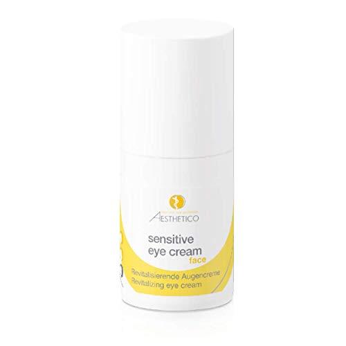 AESTHETICO sensitive eye cream - Anti-Aging-Pflege für den sehr empfindlichen Augenbereich, strukturierend durch Tigergras, für Kontaktlinsenträger, 15 ml