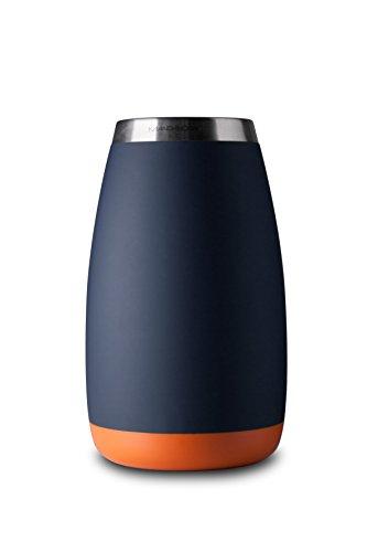 Mandahorn Aktiv-Flaschenkühler / Weinkühler / Sektkühler / Champagnerkühler Celsius Black Blue Matt (Signal Orange)