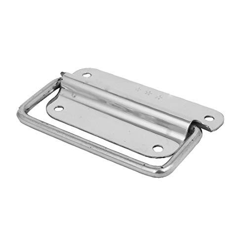 New Lon0167 Caja de Destacados madera Estuche para eficacia confiable cofres Tirador de metal Tono plateado 102x70x12mm(id:b32 15 af e1d)