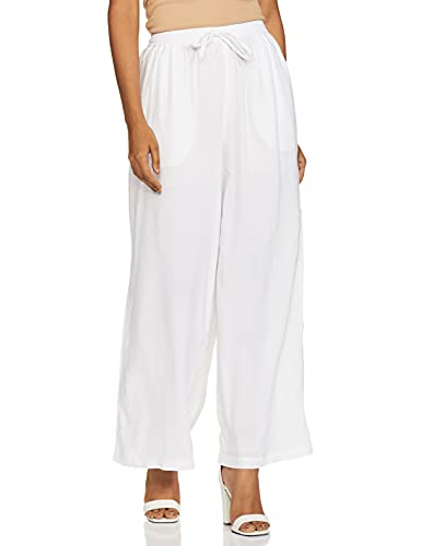 Amazon Brand – Myx Women's Palazzo Straight Bottom