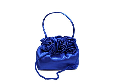 Evening Ceremony KST K2.35Blue Italian Fashion Handbag
