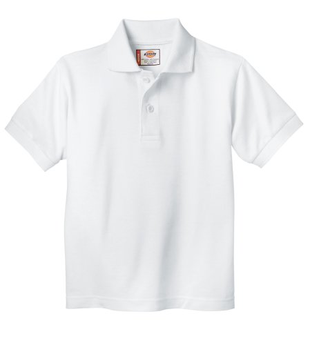 Dickies - - KS234 Kleinkind Short Sleeve Pique Polo Shirt, 4TD, White