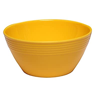 Melange 6-Piece  Melamine Bowl Set (Solids Collection ) | Shatter-Proof and Chip-Resistant Melamine Bowls | Color: Yellow
