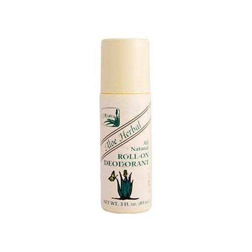Alvera All Natural Our shop OFFers the best service Roll-On Deodorant 3 Raleigh Mall Aloe Fluid Herbal Ounce