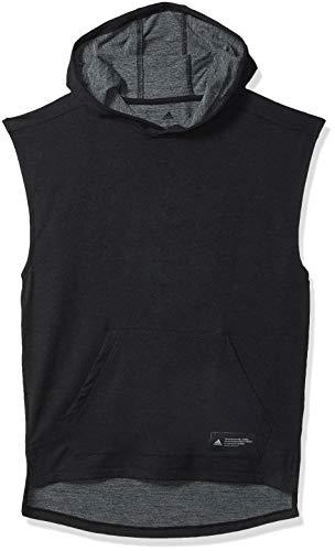 adidas Men's Tokyo Sleeveless Hoodie Black X-Large