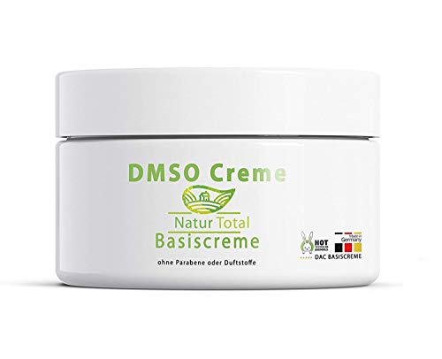 DMSO Creme Dimethylsulfoxid 99,9% Reinheit - 150ml - in einer hochwertigen Basicreme nach DAC Deutschem Apotheken Codex