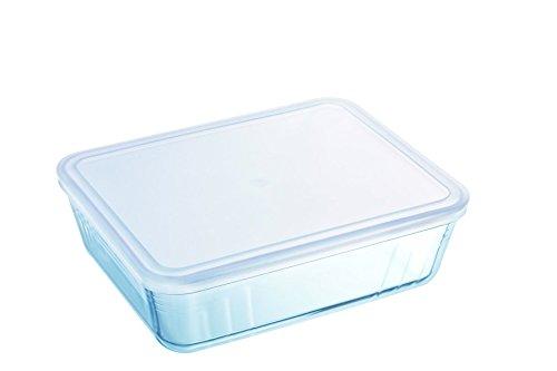 Pyrex - Cook & freeze - Plat Rectangulaire Avec Couvercle 22x17 cm