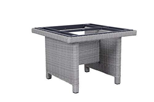 Kettler Palma Modular Tisch-Gestell 95x95cm Salt-n-Pepper