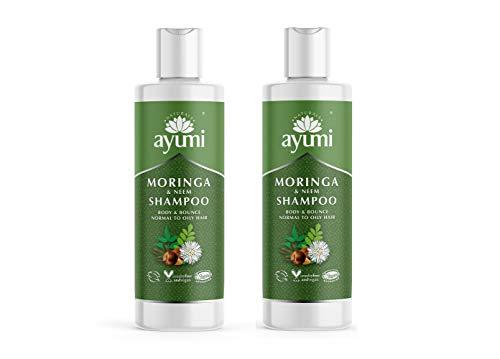 Ayumi Moringa & Neem Shampoo 2 x 250ml