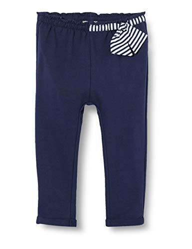 Chicco Mädchen Pantaloni Lunghi Bimba Hose, Blau (Blu 088), 92 (Herstellergröße: 092)