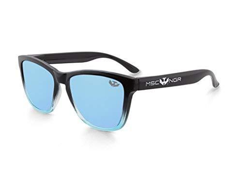 Gafas de sol MOSCA NEGRA ® modelo ALPHA SPLASH Blue - Polarized