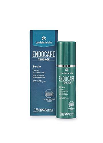 Endocare Tensage Serum - Crema Antiarrugas, Antiflacidez, Regeneradora Antiedad y Nutritiva, con Efecto Tensor Inmediato, para Todo Tipo de Pieles, 50 ml