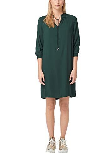 s.Oliver Damen 14.908.82.7532 Kleid, Grün (Emerald 7897), (Herstellergröße: 40)