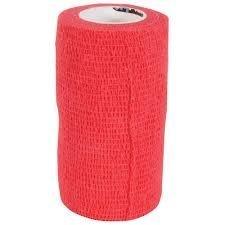 HyHealth Lot de 10 x Sportwrap Vetwrap Style Bandage en Rouge pour Cheval ou Poney – (10 pansements par Achat) pour Cataplasme Cadeau Sabot, blessures, Abcès, Infection
