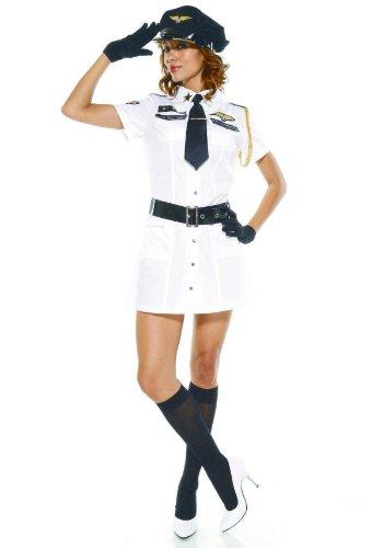Adult Captain Mile High Costume - Medium/Large Fancy Dress