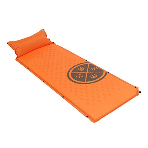 jzhi Inflatable cushion Single Wear-resisting Water Proof Spliceable Automatically Inflating Cushion Sleeping Mattress Pad With Pillow