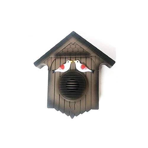 Livio Cuckoo Bird Plastic Doorbell (Brown) for Home