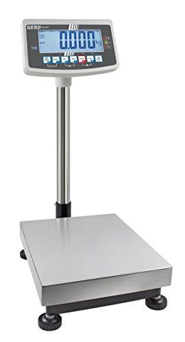 Industriële balans [IFB 60 K kern in 3L] Robuust platform weegschaal [Max]: 60 kg, leesbaarheid [D]: 2 g, reproduceerbaarheid: 2 g, lineariteit: 8 g, dienblad meetbereik: BxDxH 500 x 400 x 137 mm (roestvrij staal)