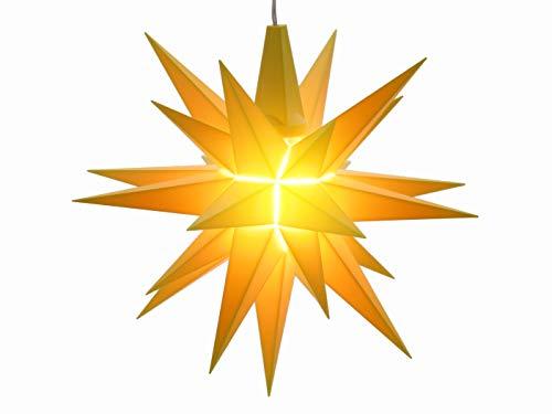 Herrnhuter Sterne Innenbereich 13 cm, gelb