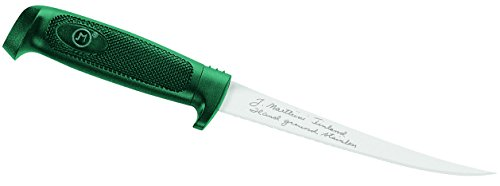 Marttiini Messer Finnisches Filetiermesser, Klinge 10 cm, grün, M, 1010277710