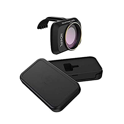 BINATI Drone Lens Filter - MCUV CPL ND4 ND8 ND16 ND32 for DJI Mavic Mini/Mini 2 Drone Lens Filter - Multi Coated Filters Combo Camera Lens (ND4 PL)
