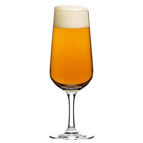 Ritzenhoff Aspergo Design Bierglas 6-delige set, biertulpe, bierglas, bierpul 2018, kristalglas, 300 ml, 2830006