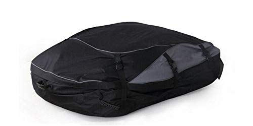 Ymhan 160x110x45cm Impermeable Universal azotea del Coche Canastilla Superior Bolsa de Transporte de Carga 600D Oxford Tela Viajes Guardaequipajes SUV Van for los Coches