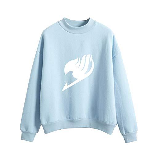 Fairy Tail Felpa Pullover Maglia Invernale Calda per Le Donne e Gli Uomini Moda Sweatshirt