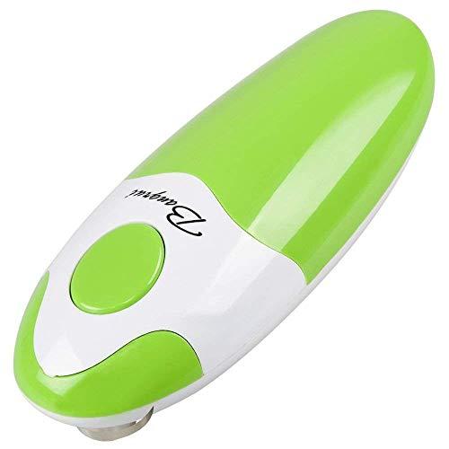 Apriscatole BangRui elettrico. Apriscatole per cucina del ristorante. Bordo pulito e liscio, Interruttore one-touch, la scelta migliore per chef.(Verde)
