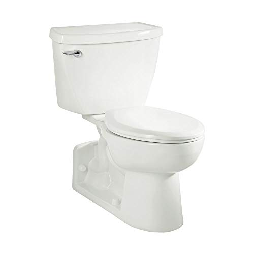 American Standard 2876100.020 Yorkville 1.1 GPF 2-Piece Elongated Pressure-Assisted Toilet, White