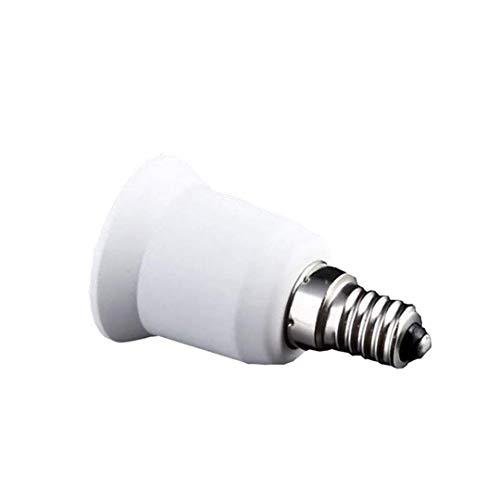 E14 a E27 lampadina LED della lampada dello zoccolo della lampada della base dello zoccolo del convertitore Edison adattatore Vite