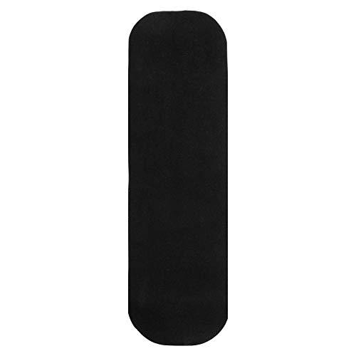 LIOOBO Hoja de Cinta para Patineta Cinta de Agarre Scooter Negro Impermeable 80x 20CM