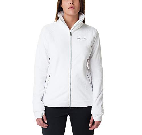 Columbia Damen, Pearl Plush II, Fleece-Jacke, Blanco (White), XS