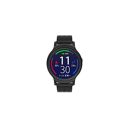 OPTA RSB-128 Plastic Davida Bluetooth Wearable Technology TFT Color Display Heart Rate Fitness Band+ All-in-One Activity Tracker Smart Watch Compatible with Android/iOS Smart PhonesMedium (Black)