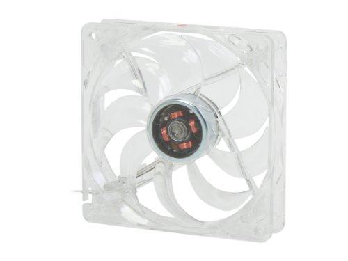 Rosewill RFTL-131209R - Ventilador LED para Carcasa de computadora (120 mm), Color Rojo
