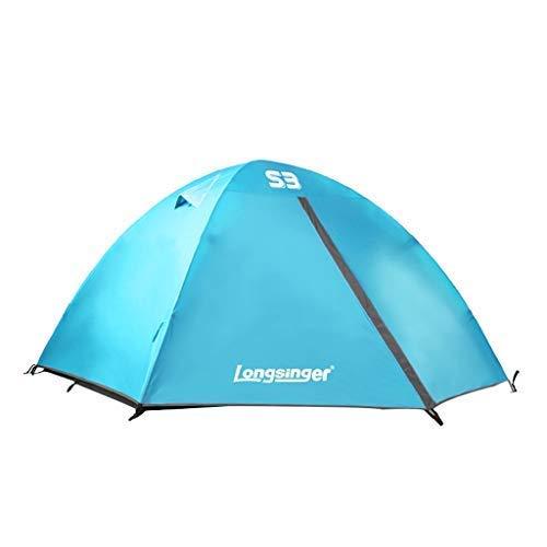 Tenda esterna, singola / doppia / tre / quattro persone, maglia traspirante ad alta densità, 150D oxford, apertura rapida, senza costruzione, impermeabile e resistente ai raggi UV, picnics spiaggia es