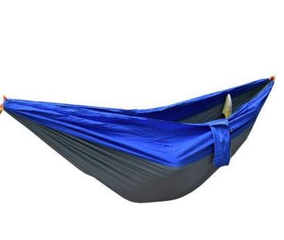 KPTHKW Tela de paracaídas de Doble Hamaca de Doble Hamaca al Aire Libre 2 Persona Hamaca Adulto al Aire Libre mochilero Viaje Supervivencia Caza durmiendo para Patio, Patio, Viaje, Playa