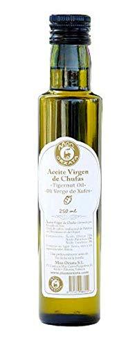 Aceite de chufa de València - Món Orxata. Extraído por prensado en frío. Botella cristal de 250 ml..