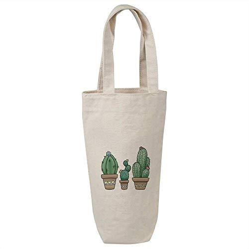 Azeeda 'Kaktus Trio' Weinflasche Geschenktasche / Flaschenträger (BL00008503)