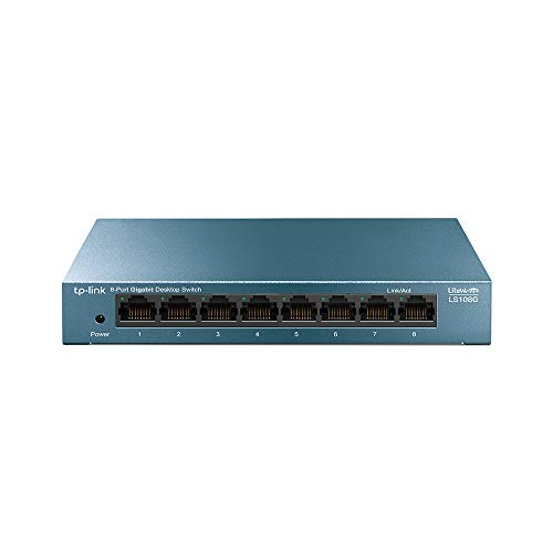 Switch Ethernet 600Mbps switch ethernet  Marca TP-Link