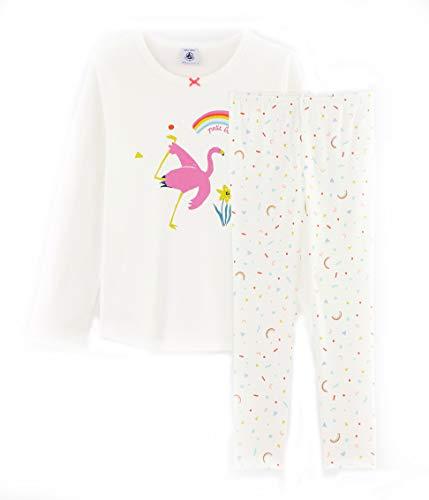 Petit Bateau Pyjama Gr. 6 Jahre, Marshmallow/Mehrfarbig